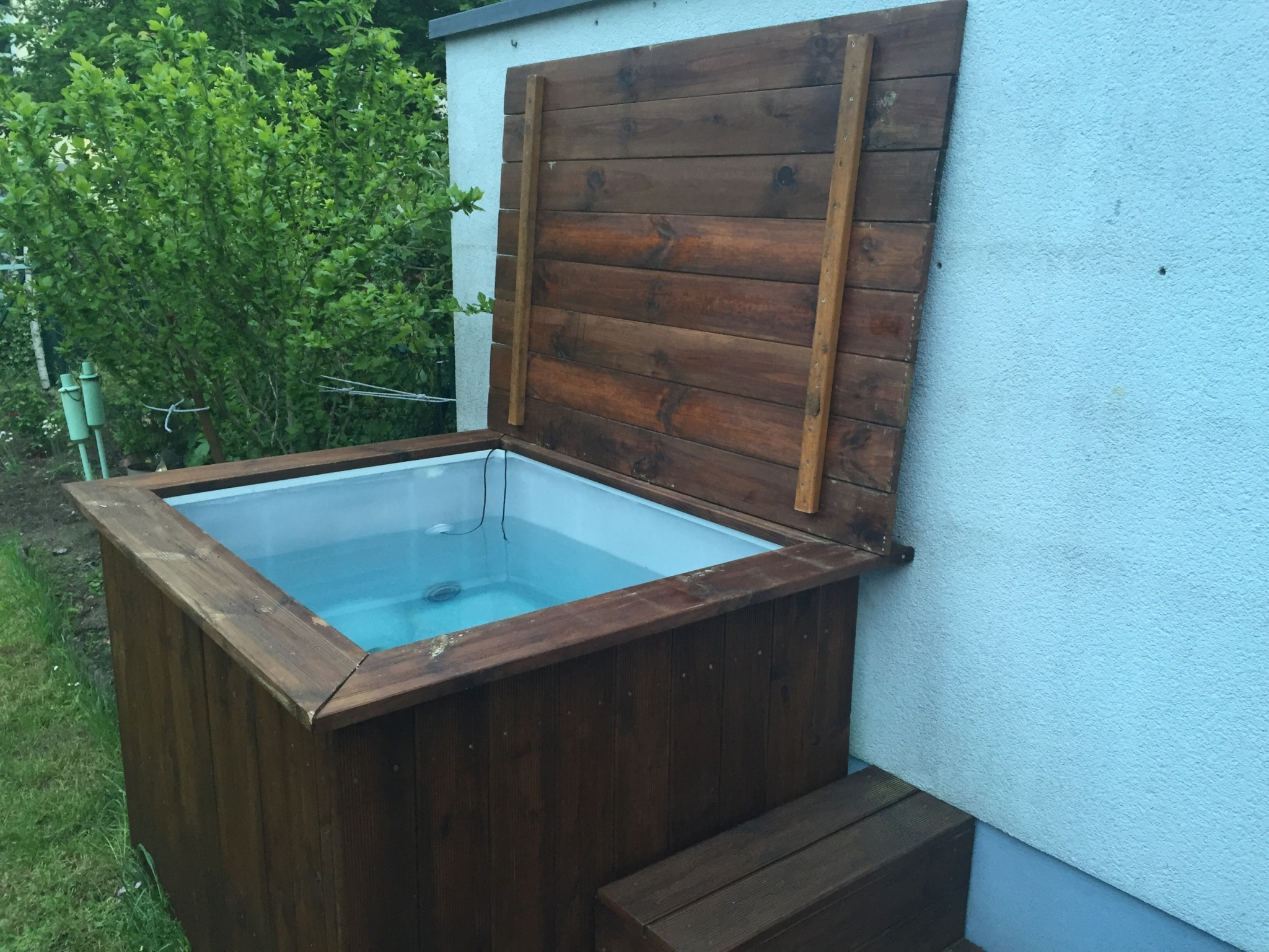 Diy whirlpool der deckel leckemojito you are on the woodway - Whirlpool eigenbau ...